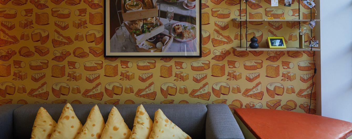 У Лондоні відкрили готель для фанатів сиру