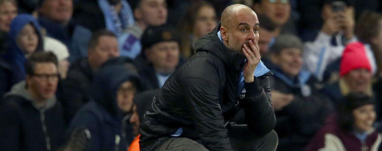 """Гвардіола розповів, що його можуть звільнити з """"Манчестер Сіті"""""""