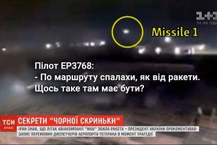 Пілот іранського лайнера бачив ракету від моменту пуску і до влучання в літак МАУ
