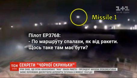 Пилот иранского лайнера видел ракету с момента пуска и до попадания в самолет МАУ