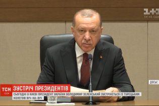 Турция не признает незаконной аннексии Крыма - Эрдоган сделал заявление перед встречей с Зеленским