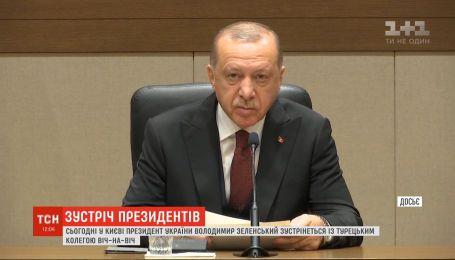 Туреччина не визнає незаконну анексію Криму – Ердоган зробив заяву перед зустріччю з Зеленським