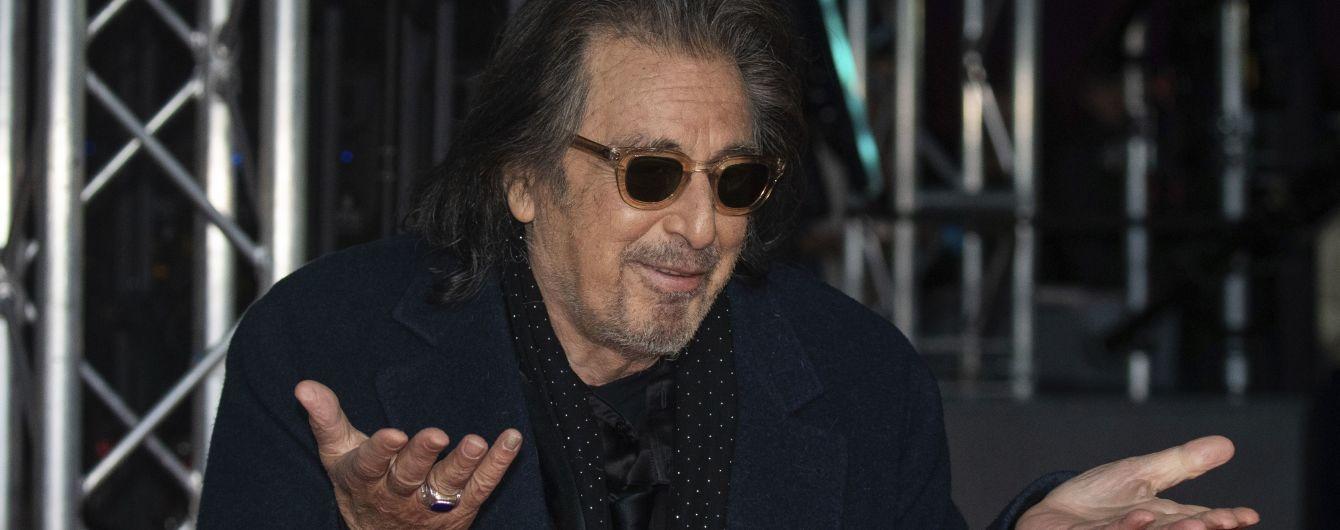 79-летний Аль Пачино грохнулся на красной дорожке премии BAFTA-2020