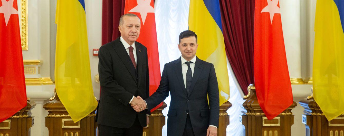 Ердоган погодився взяти участь у Кримській платформі для деокупації півострова