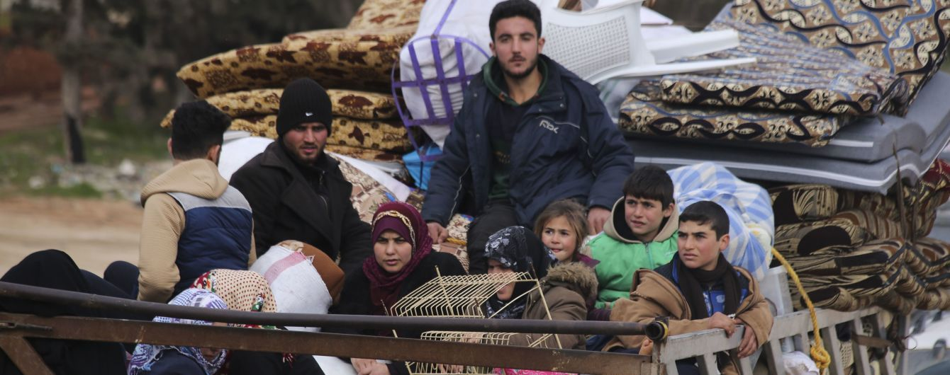 Ердоган звинуватив Росію у порушенні угод щодо Сирії і заявив, що до Туреччини втікає мільйон біженців