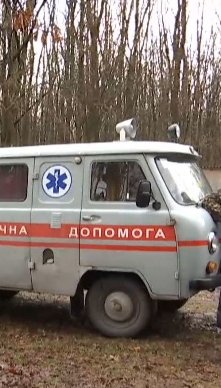 У Житомирі чоловік помер за 100 метрів від лікарні у санітарній машині