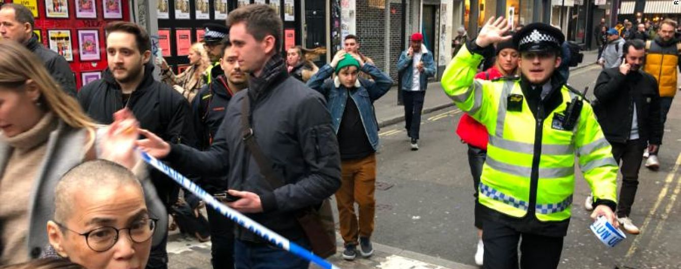 Тысячи людей в центре Лондона эвакуировали из-за бомбы времен Второй мировой