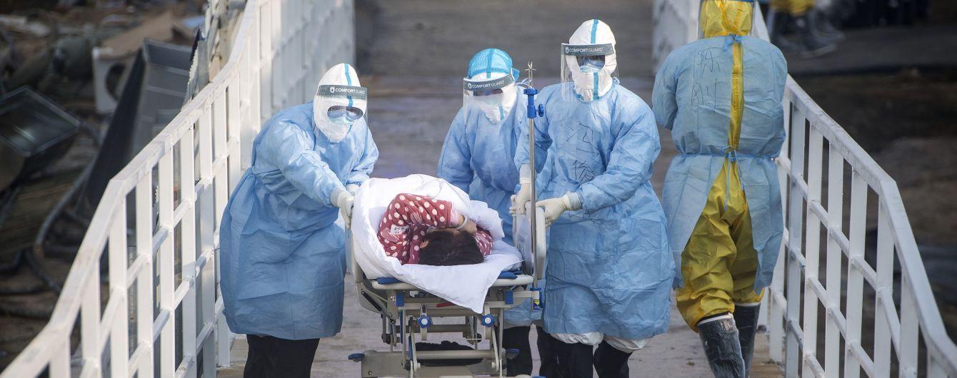 Кількість хворих на коронавірус зросла до 76,7 тисячі. Ознаки інфекції підтверджують у вилікуваних пацієнтів