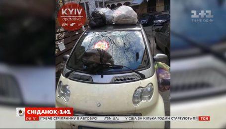 У Києві все частіше люди вдаються до самосуду в боротьбі із горе-паркувальниками