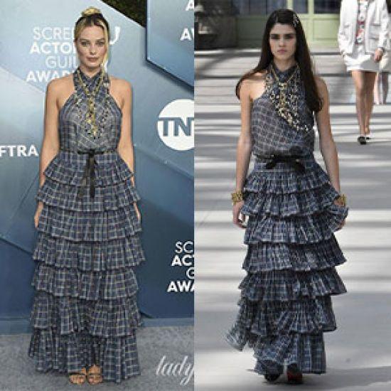 Кому більше пасує сукня від Chanel?