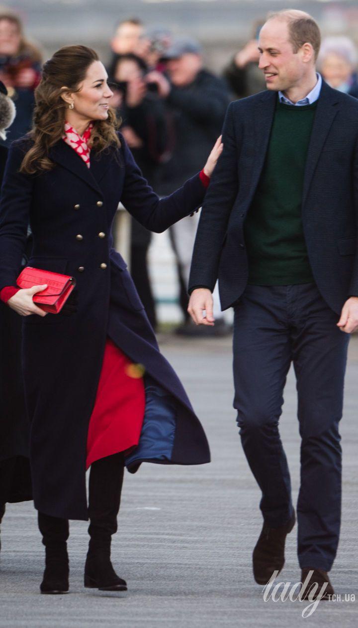 Герцогиня Кембриджська та принц Вільям