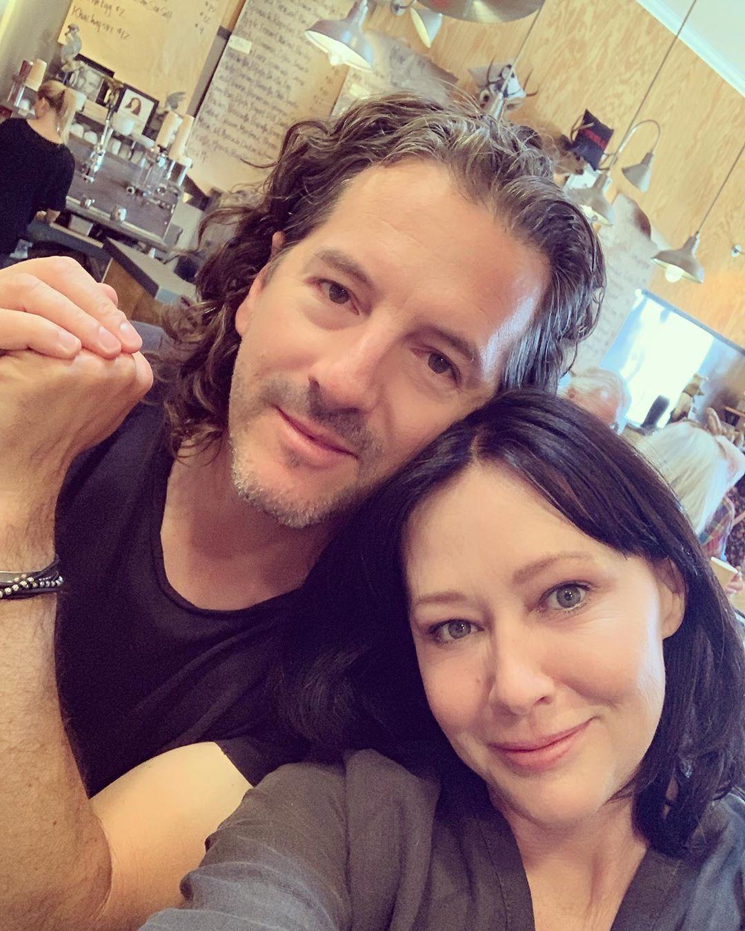 Шеннен Догерті з чоловіком