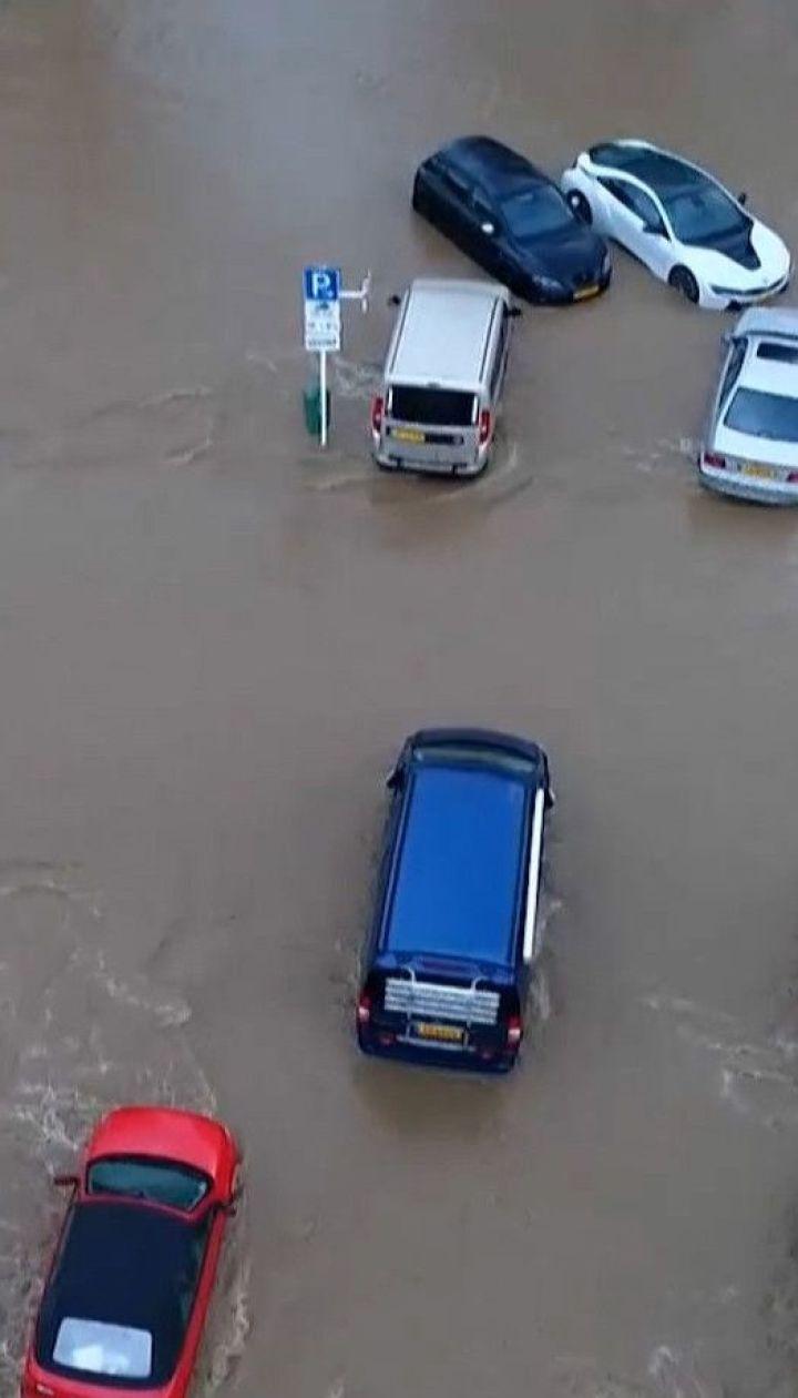 Руйнівні паводки: велика вода накрила міста у Німеччині та Люксембурзі