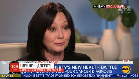 """Зірці серіалу """"Беверлі-Гіллз"""" Шеннен Догерті діагностували рак четвертої стадії"""