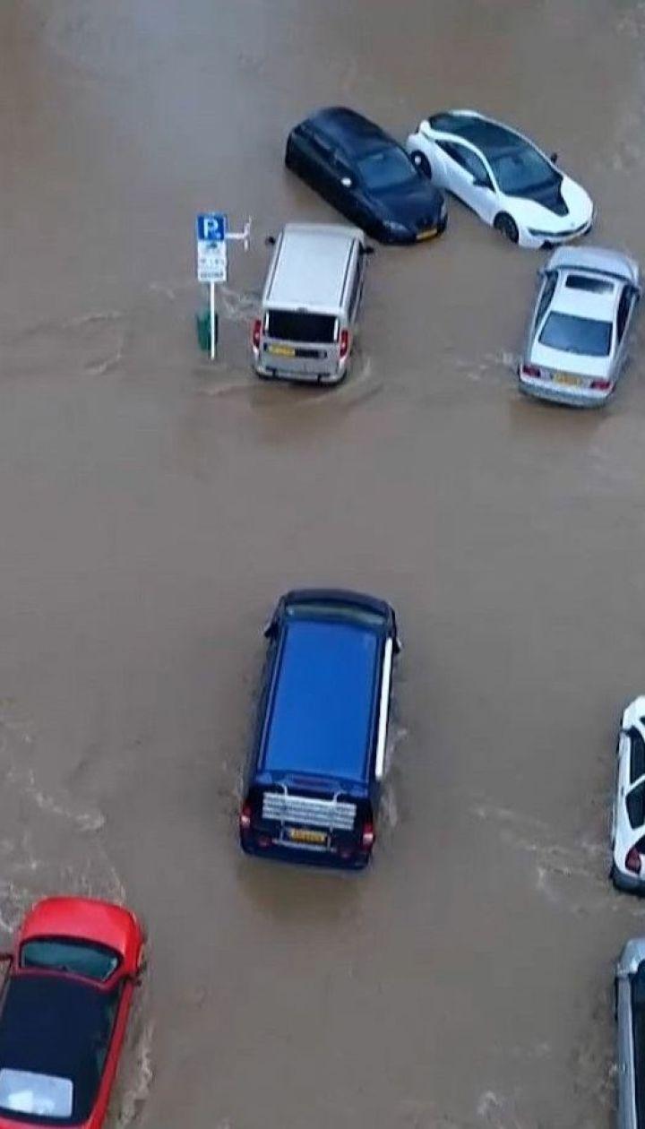 Разрушительные наводнения: большая вода накрыла города в Германии и Люксембурге