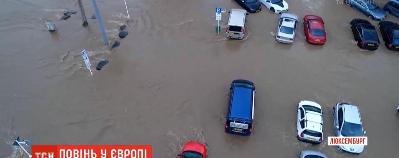 В Германию и Люксембург среди зимы пришли разрушительные паводки