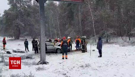 На Столичному шосе у Києві сталася смертельна аварія