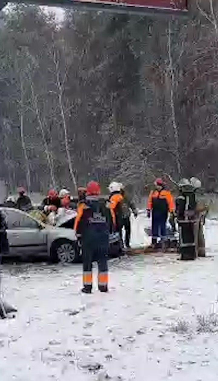 На Столичном шоссе в Киеве произошла смертельная авария