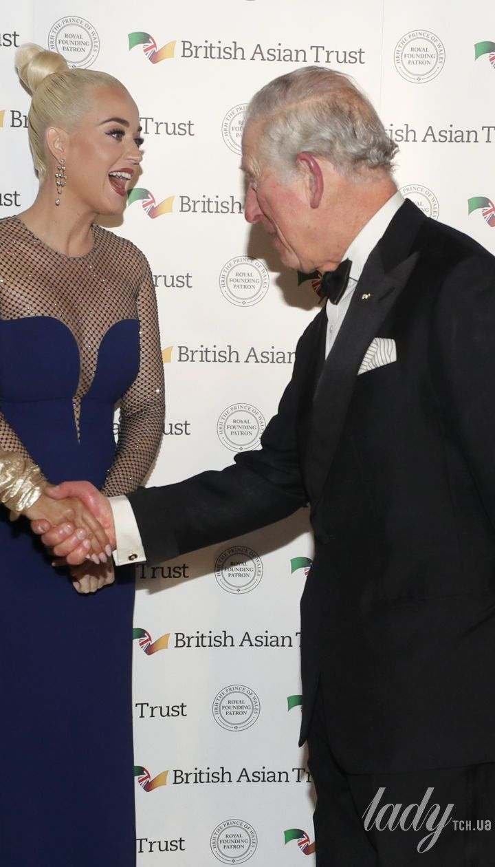 Принц Чарльз, Кеті Перрі і герцогиня Корнуольська