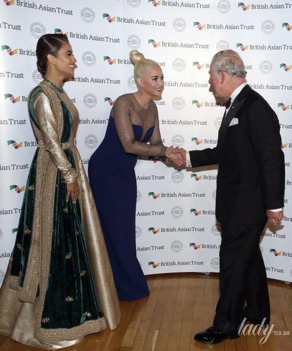 Принц Чарльз, Кэти Перри и герцогиня Корнуольская_2