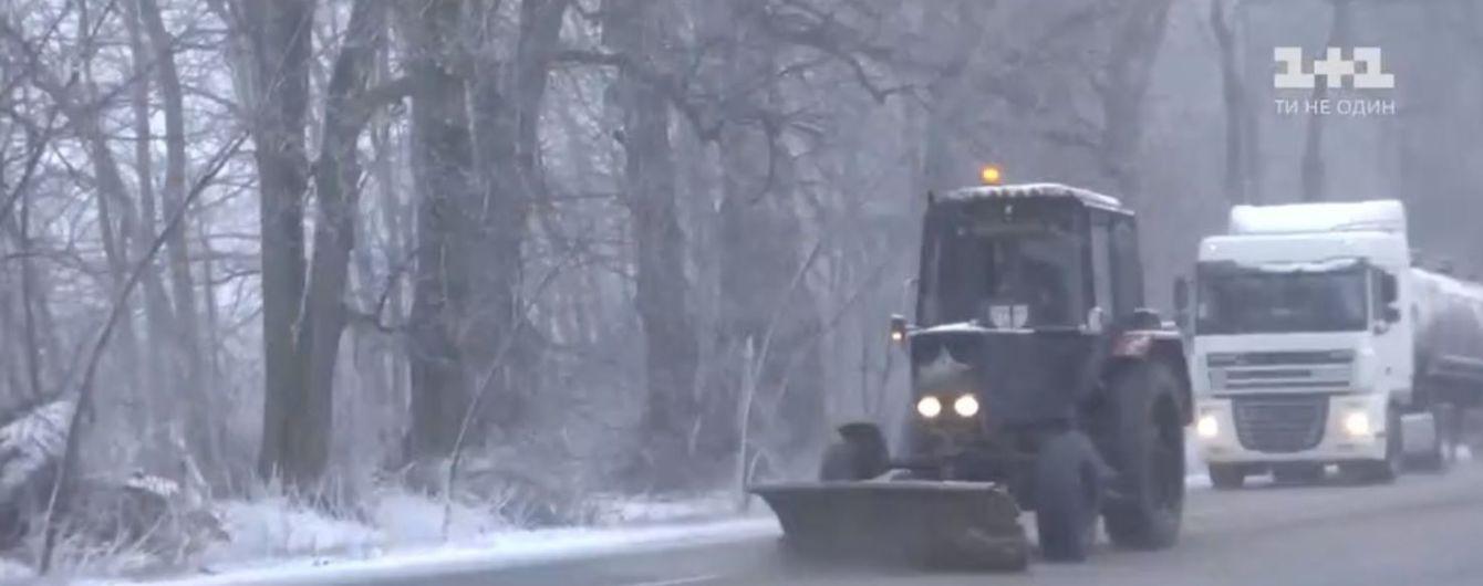 Заметіль на Хмельниччині призвела до значних ускладнень на дорогах
