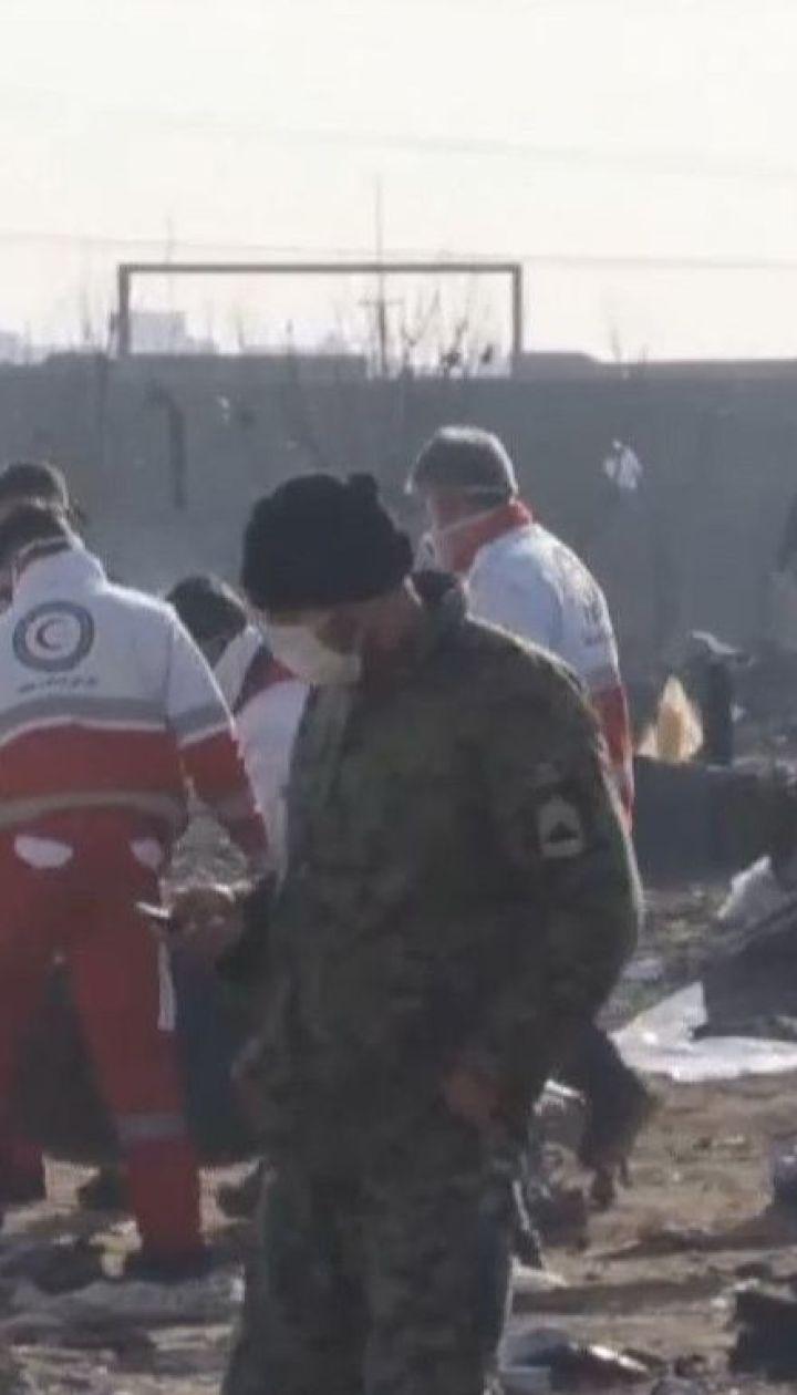 """П'ять країн, громадяни яких загинули в літаку МАУ, закликають Іран віддати """"чорні скриньки"""""""