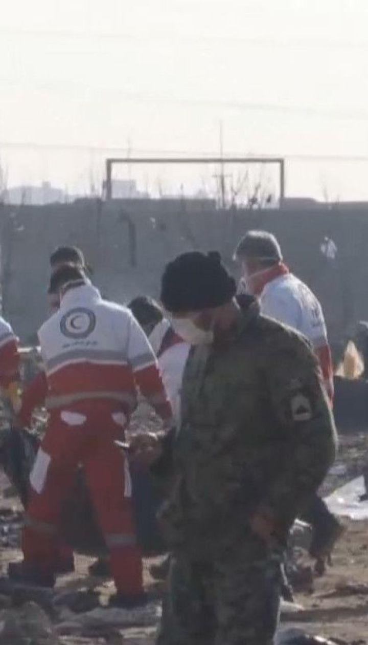 """Пять стран, граждане которых погибли в самолете МАУ, призывают Иран отдать """"черные ящики"""""""