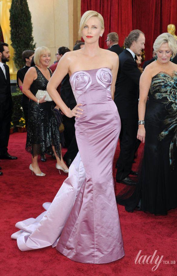 "Шарлиз Терон на 82 церемонии ""Оскара"" в платье John Galliano for Christian Dior, 2010"