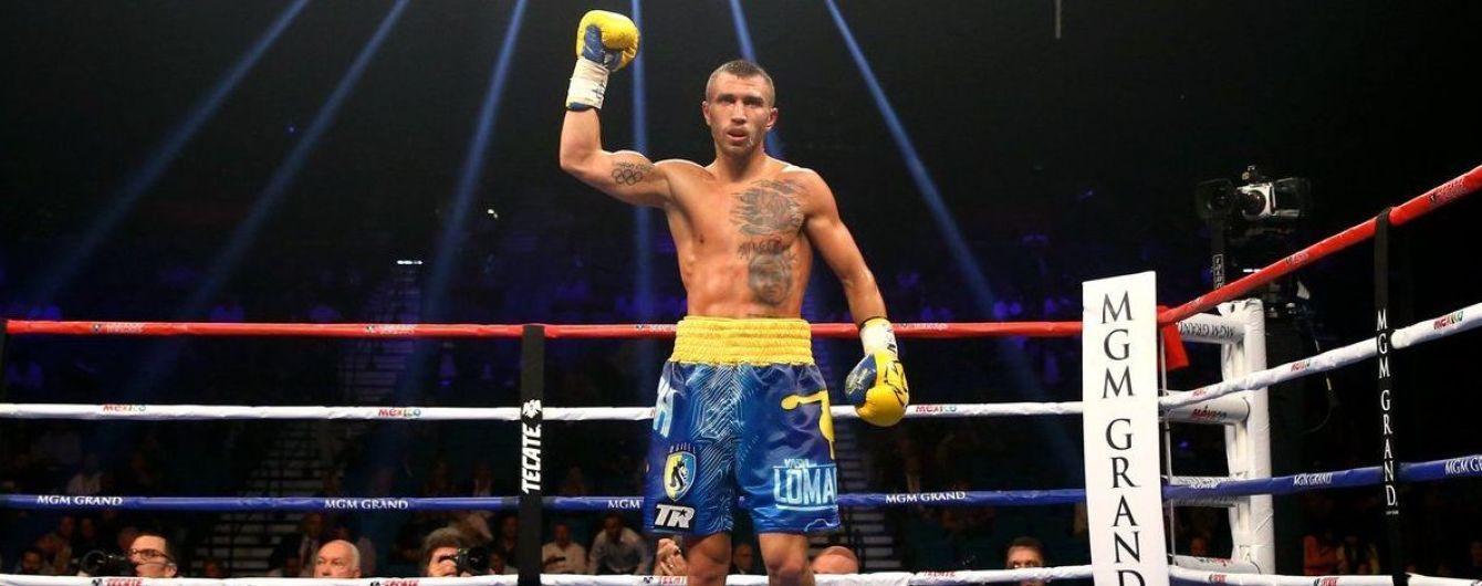 Ломаченко номинирован на звание лучшего боксера 2019 года по версии WBC