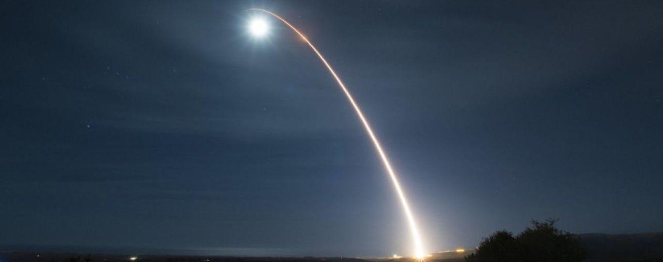 США успішно випробували міжконтинентальну балістичну ракету Minuteman III