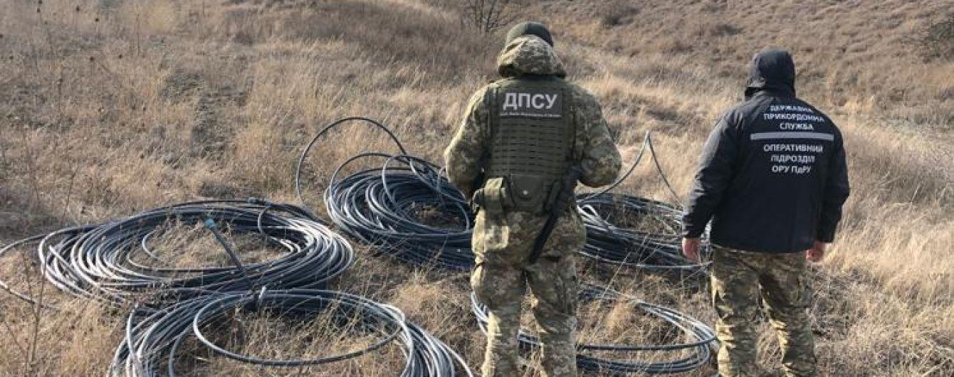 Із Придністров'я до України нелегально підземними трубами перекачували спирт