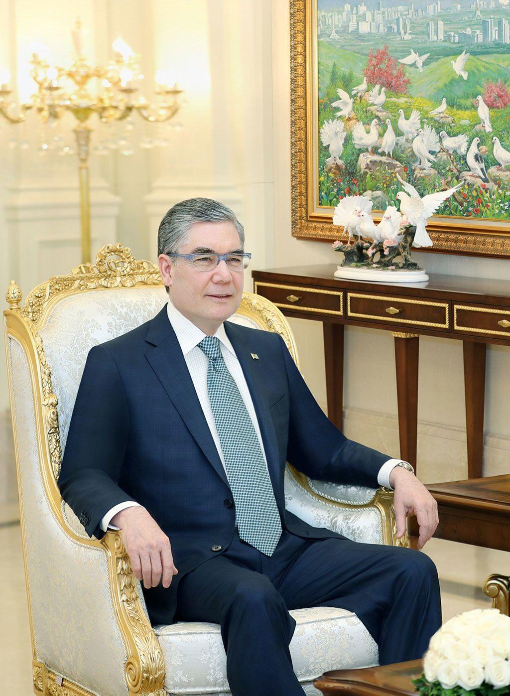 Президент Туркменістану  Гурбангули Бердимухамедов