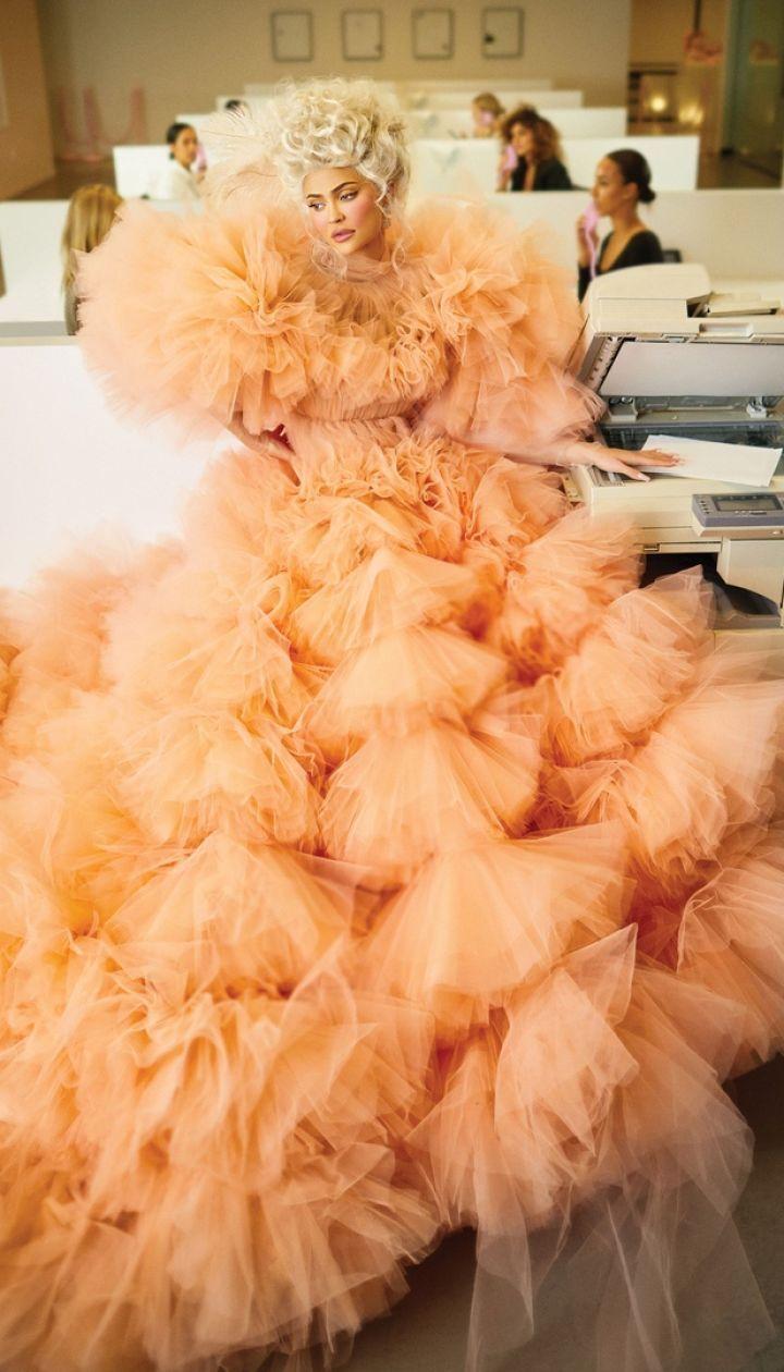 Кайли Дженнер в фотосете для Harper's Bazaar