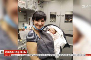 Лікарка-лор Олена Федченко розповіла, як прийняла пологи в літаку