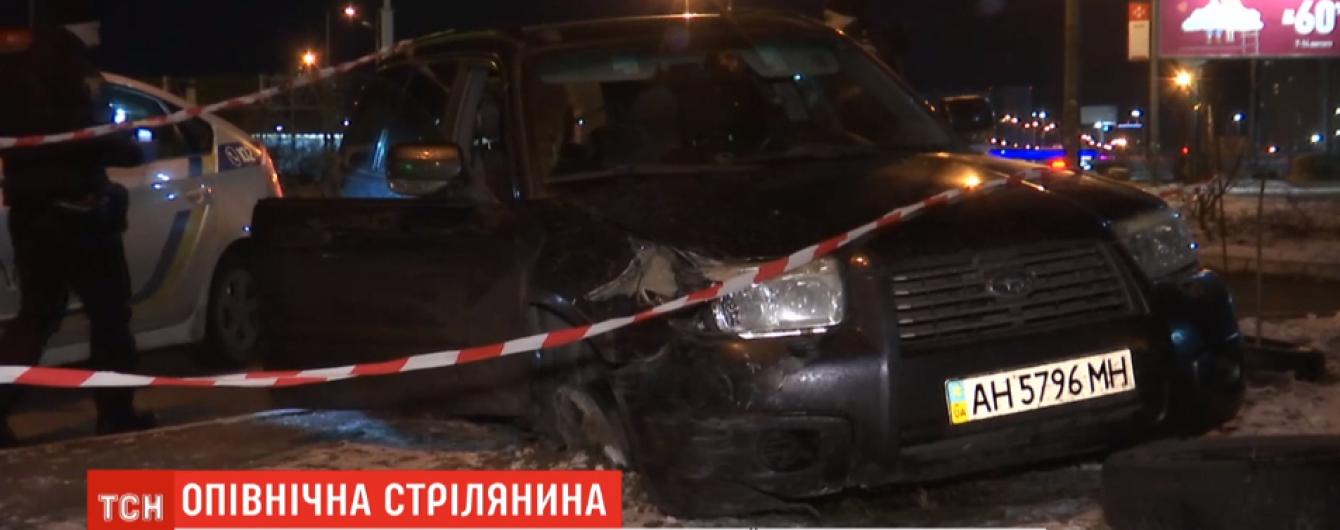 Стрелял в копов и таранил машины. Водитель устроил разборки среди Киева