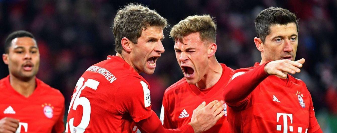 """""""Баварія"""" у шаленій гольовій перестрілці вийшла до чвертьфіналу Кубка Німеччини"""
