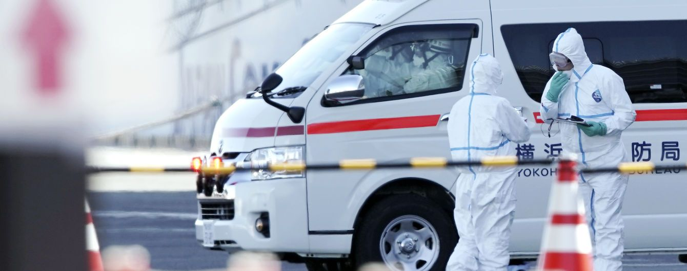 Серед інфікованих коронавірусом пасажирів круїзного лайнера українців немає - МОЗ