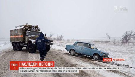 Негода в Україні: яка ситуація в Херсонській та Одеській областях