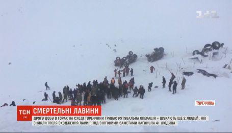 На сході Туреччини шукають ще двох людей, що зникли після сходження лавини