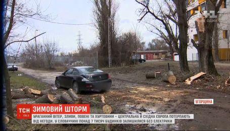 Ураганный ветер, ливни и наводнения: Центральная и Восточная Европа страдают от непогоды