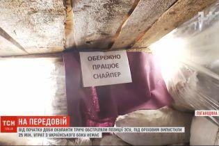 Сутки на Донбассе: боевики трижды обстреляли позиции ВСУ