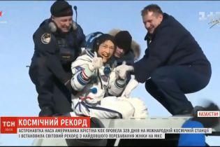 Астронавтка NASA встановила рекорд з найдовшого перебування жінки на МКС