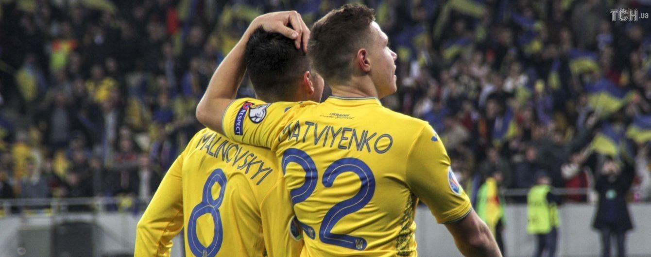 Сборная Украины проведет еще два спарринга перед Евро-2020, а матч с Кипром примет Харьков