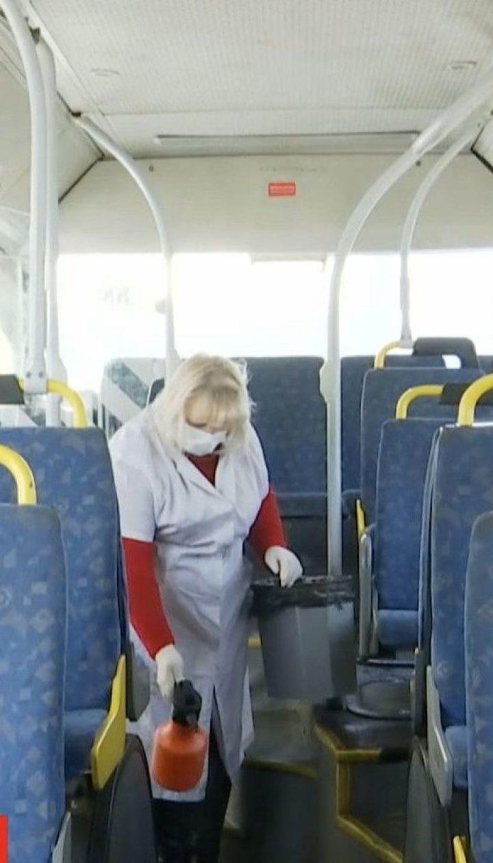 В Днепре после каждого рейса дезинфицируют пассажирские автобусы