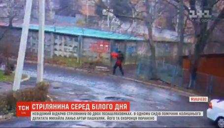 Кілер у Мукачеві обстріляв авто помічника ексдепутата Михайла Ланьо