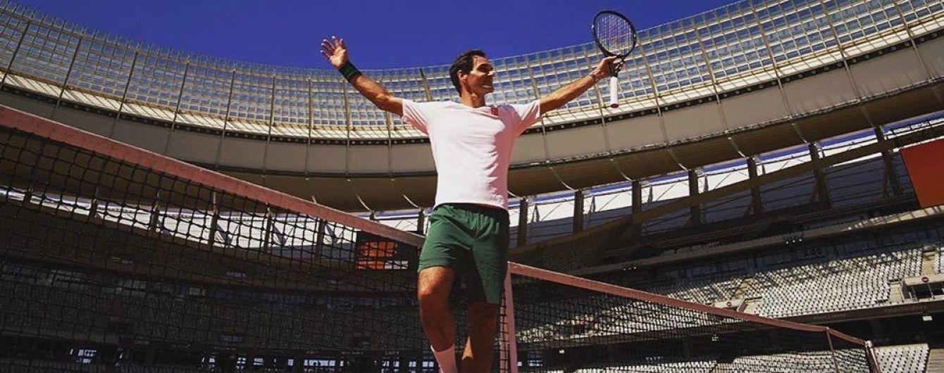 Федерер підколов Надаля через колір корту на виставковому турнірі в ПАР