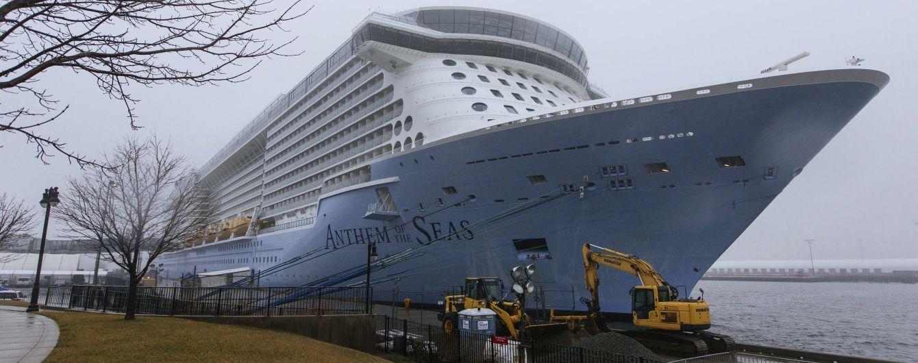 На борту еще одного круизного лайнера в Нью-Джерси обнаружили туристов с подозрением на смертоносный коронавирус