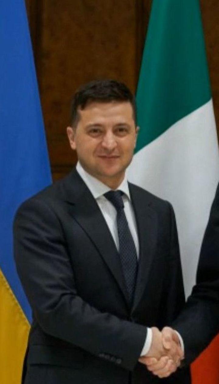 Президент України перебуває в Італії з офіційним візитом