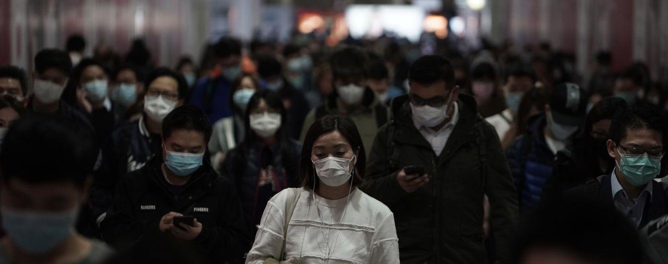 Від коронавірусу загинуло вже 1100 людей. Кількість хворих сягла 45 тисяч
