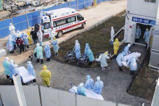 У Китаї від коронавірусу за добу померли майже 100 осіб